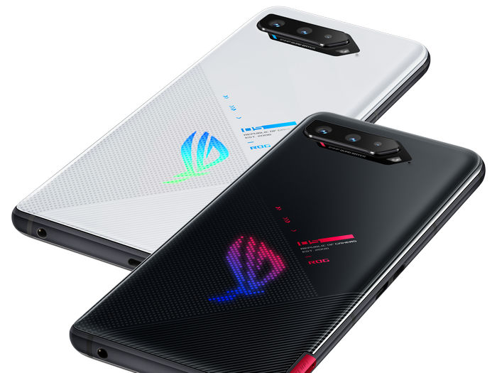 ROG Phone 5 - задний дисплей