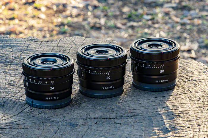 Sony SEL50F25G, SEL40F25G и SEL24F28G