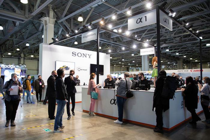Фотофорум - стенд Sony
