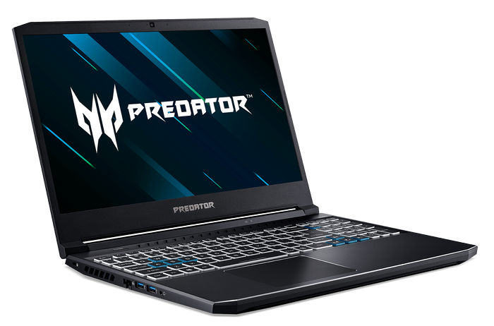 Ноутбук Acer Helios 300 - разъемы слева