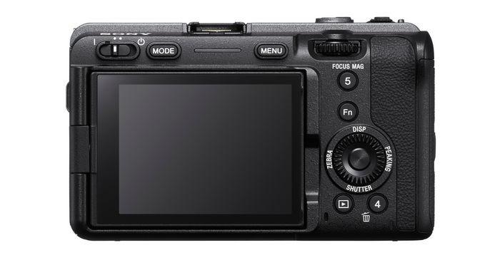 Sony FX3 - дисплей
