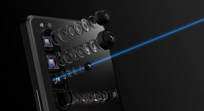 Sony Xperia 1 III iToF sensor