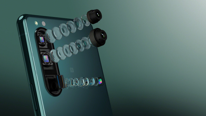 Объективы Sony Xperia 5 III