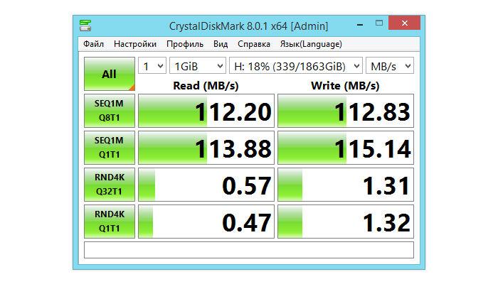 HDD Toshiba 2 TB