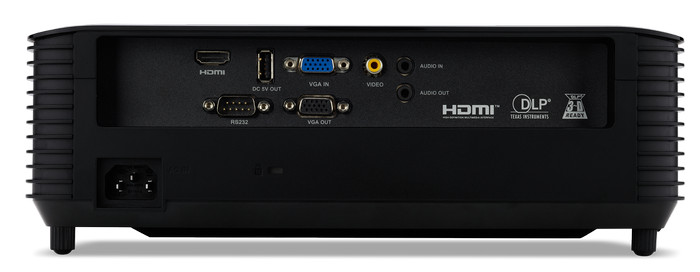 Разъемы проектора Acer X1328WH