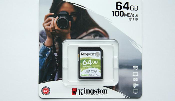 Тест Kingston Canvas Go! Plus 64 Гб