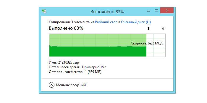Запись большого файла на SD карту