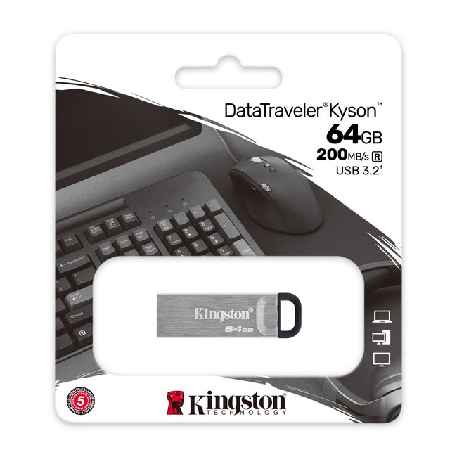 Kingston DataTreveler Kyson 64 Гб (DTKN/64GB)