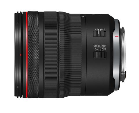 Canon RF14-35mm F4 L IS USM - переключатели