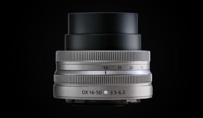 NIKKOR Z DX 16-50mm f/3.5-6.3 VR серебристый