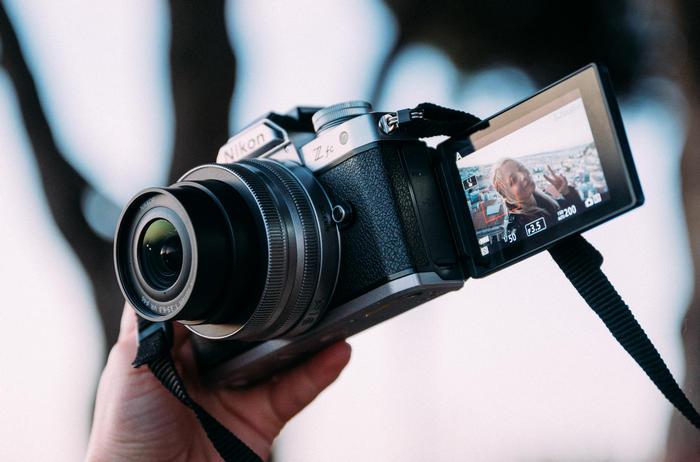 Nikon Z fc display