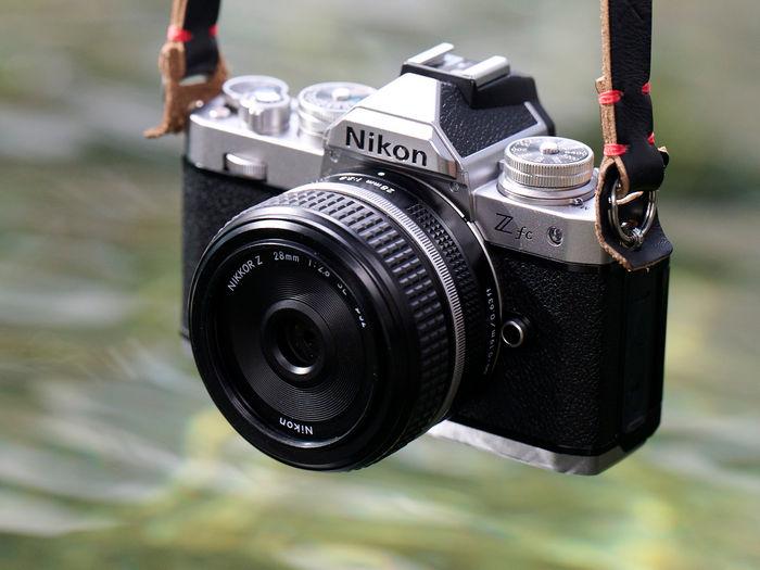 Nikon Z fc формата DX