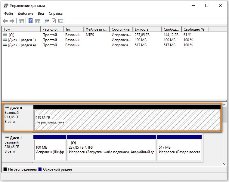 Неразмеченный SSD GIGABYTE 1000 GB (GP-GSTFS31100TNTD)