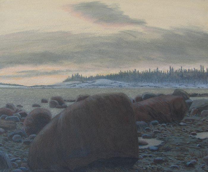 Скоро зима б. акр. 50,5х61 2004
